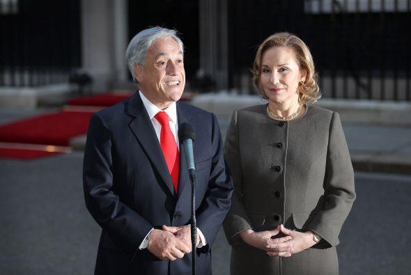 El presidente de Chile Sebastián Piñera está de vis...
