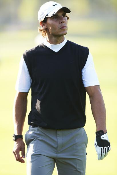 El tenista español Rafael Nadal formó parte del equipo gan...