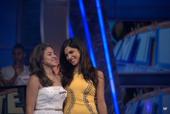 Ale la felicitó y deseó lo mejor en medio del programa. Ahora sí la otra...