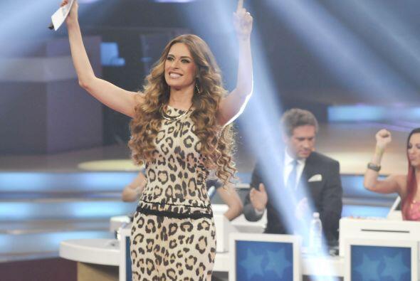 Todos extrañaremos el gran carisma de la presentadora pues era pieza fun...
