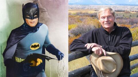 Adam West, el actor que protagonizó la serie 'Batman' en la déca...