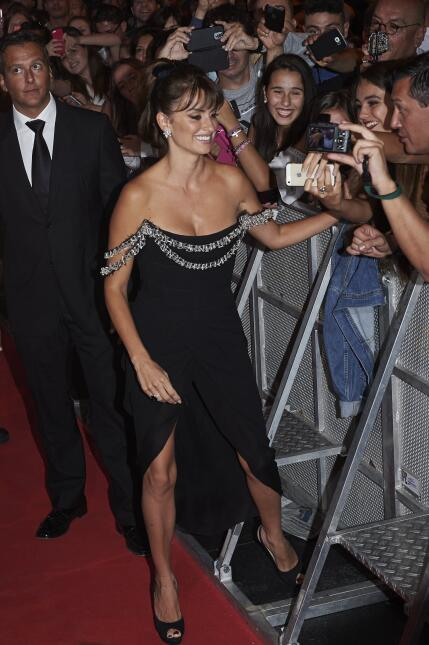 La española cautivó a todos durante la alfombra roja en Madrid de su nue...