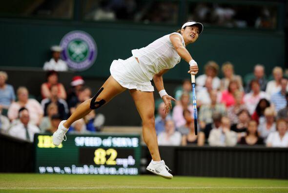 Ganadora del segundo Grand Slam sobre tierra batida, Li cayó por...