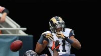 Jennins encabeza la NFL en el departamento de intercepciones con cuatro...