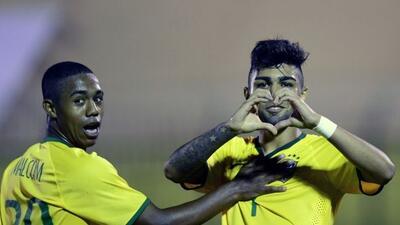 Brasil se impuso 2-0 la 'Vino Tinto' en el Sudamericano.