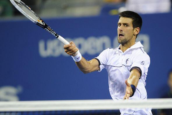Durante la disputa del sexto 'game', Djokovic reclamó al á...