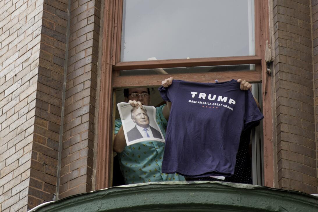 La ciudad se prepara para el discurso que Donald Trump pronunciará esta...