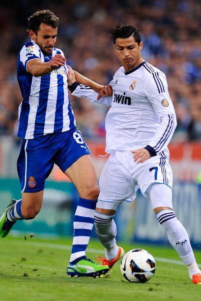 El Espanyol defendió bien.