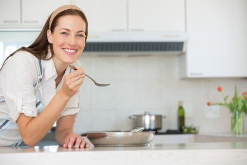 Una cucharadita... Siempre prueba las mezclas de pastel de carne, albónd...
