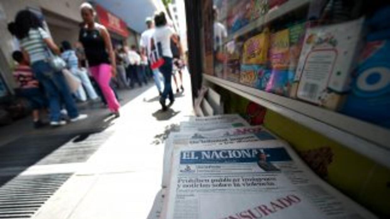 """La SIP condenó """"censura judicial"""" contra diarios venezolanos."""
