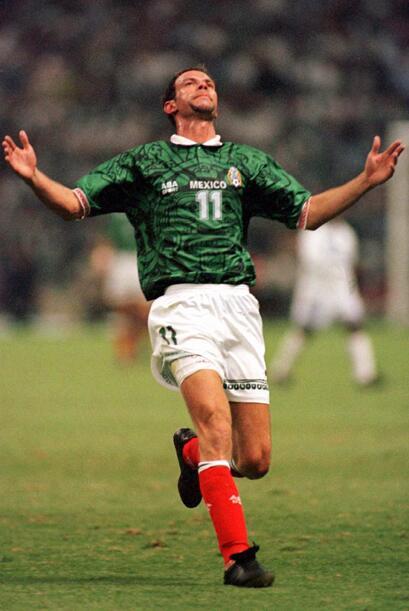 Zague, el rompedes de la Copa Oro 1993