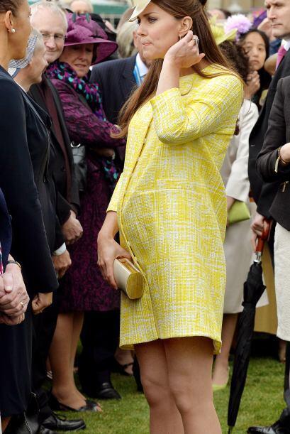 Kate Middleton fue la embarazada más fashion del año.