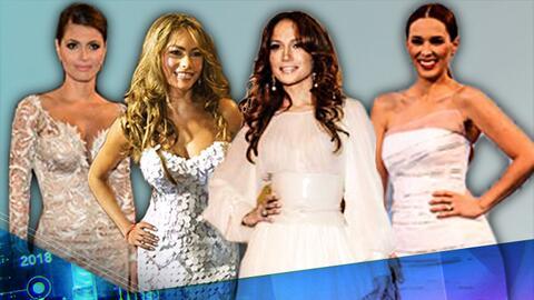 Desde Sofía Vergara hasta J Lo: son el blanco de halagos en la alfombra...