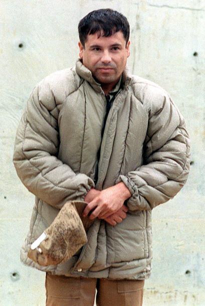 """El narcotraficante mexicano Joaquín """"El Chapo"""" Guzmán, líder del cartel..."""
