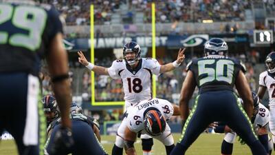 Mover a Peyton Manning con presión podría ser clave para los Seahawks (A...