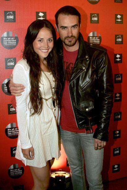 En el 2010, Jorge Poza y Zuria Vega presumieron su amor por los TVyNovelas,