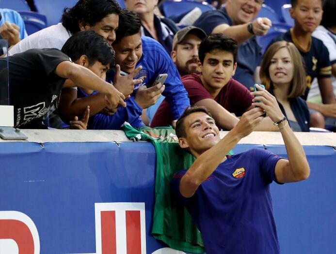 Serie A / Atalanta 0-[1] Roma: el mexicano Héctor Moreno fue suplente co...