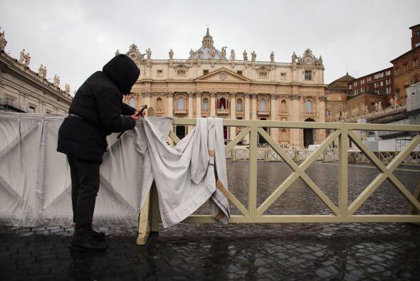 Después, en procesión subirá a la basílica y...
