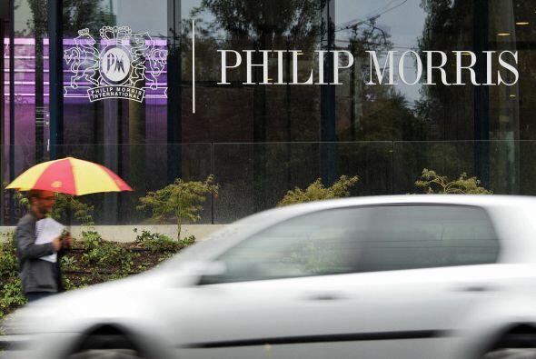 La decisión aplica para Philip Morris USA, Brown & Williamson, filial de...