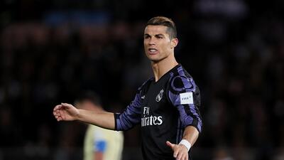 Cristiano jugó, recibió golpes, se quejó y marcó en el partido ante el América