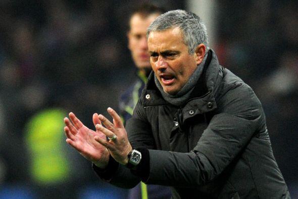 José Mourinho no se conformaba con la mínima ventaja y le pedía más a su...