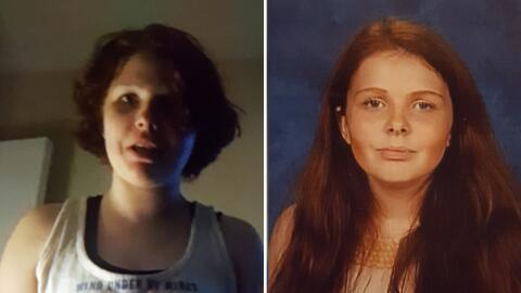 Samantha McCain, de 13 años, desapareció la noche del juev...