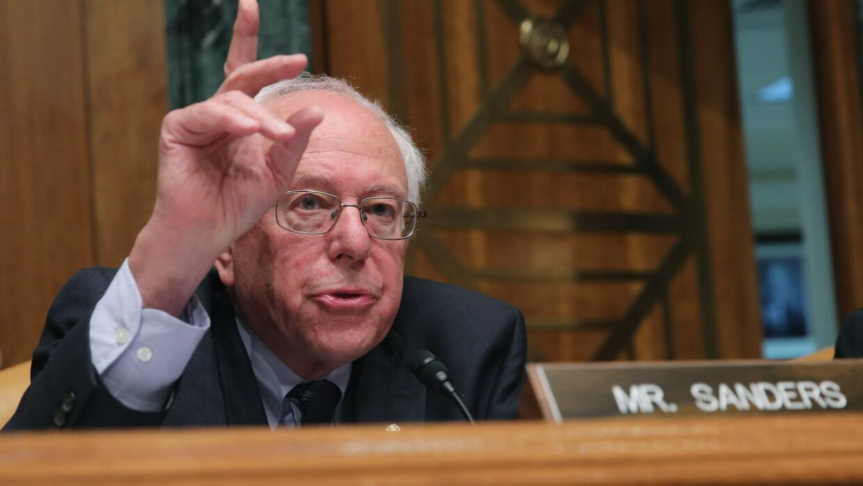 Sanders en el Senado