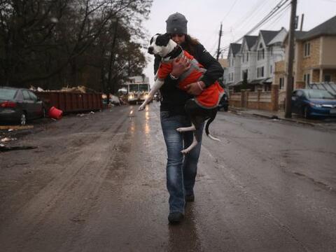 El huracán 'Sandy' pasó por Estados Unidos y dejó a...