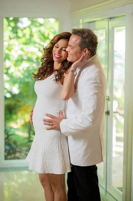¡Nueva etapa! Lourdes Stephen está lista para ser mamá embarazo%20Lourde...