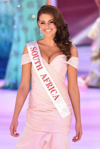 Miss Sudáfrica, Rolene Strauss, a punto de recibir una sorpresota.