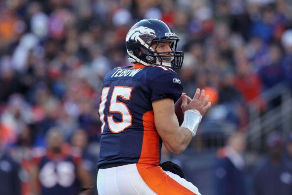 Dentro de los Broncos se encuentra su quarterback Tim Tebow quien en 201...