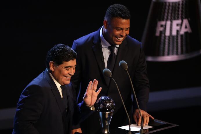 Por último, se entregó el Premio The Best al Mejor Futbolista, el cual f...
