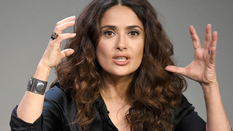 Salma Hayek, cuyo nombre significa paz o calma, estrenó en las pa...