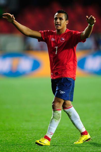 La gran promesa del representativo chileno es Alexis Sánchez, Borghi y C...
