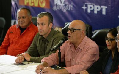 Jorge Rodríguez, alcalde de la municipalidad de Libertador en Car...