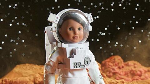 Luciana Vega, una muñeca latina de la línea American Girl...