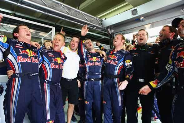 Por ahora, Red Bull puede celebrar su primer título de constructores de...