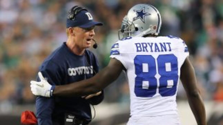 El entrenador en jefe de Dallas, Jason Garrett, confía en que Dez Bryant...