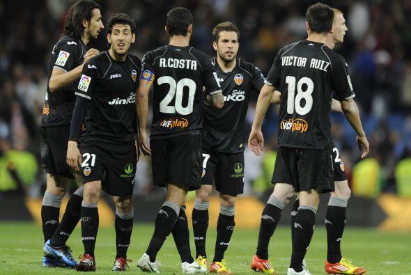 Valencia logró sacar el empate sin goles, resultado que para ellos fue c...