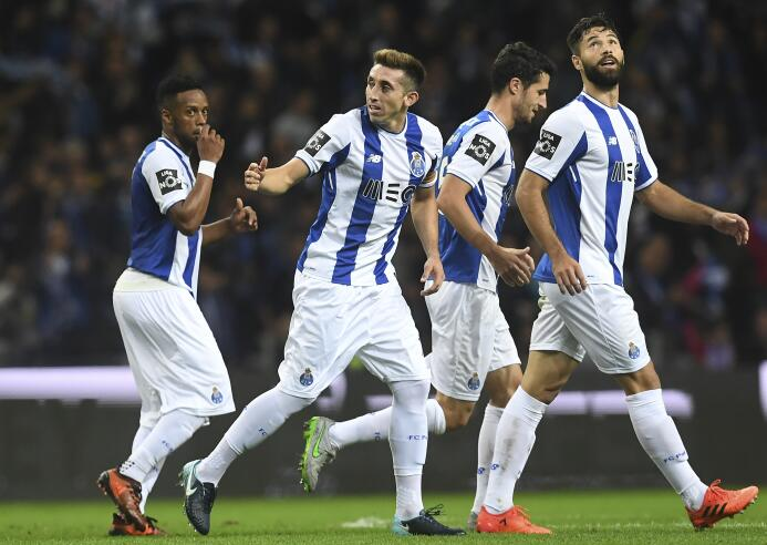 Viernes 1º de diciembre - 3:30 p.m. CT / Porto Vs. Benfica: llegó el der...