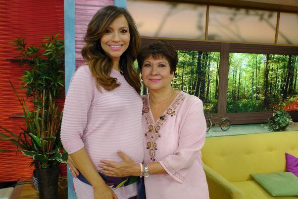 Satcha compartió con su mamá su primer día de las madres, sin duda un mo...