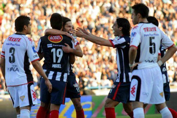 En el 2010 los Rayados de Monterrey le dieron una alegría a su gente al...