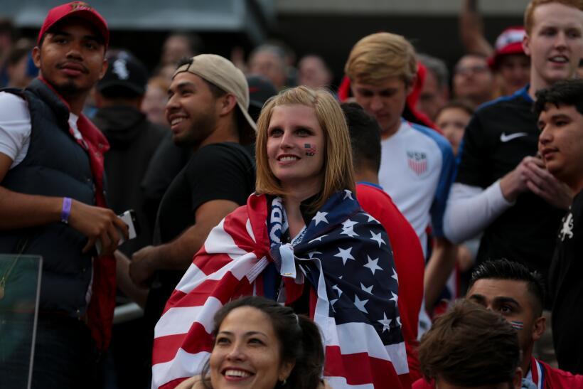 Mira toda la adrenalina que se vivió en el encuentro de EE.UU. co...