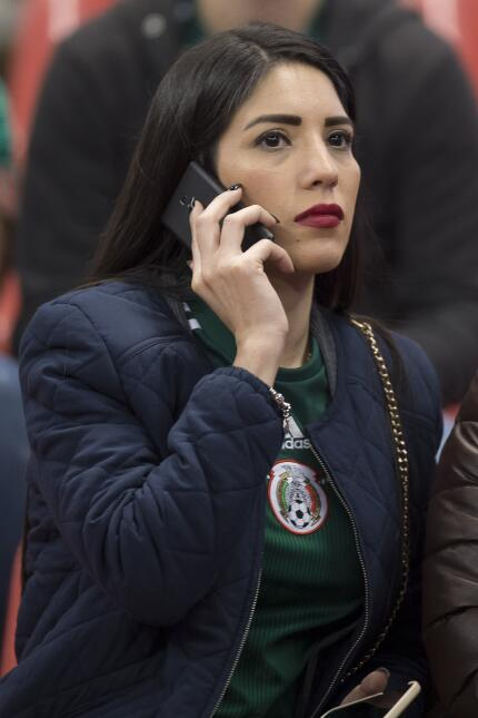 Los aficionados se dieron cita en el Azteca para apoyar al Tri y  a la '...