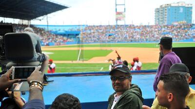 Playball: guerrilleros de las FARC en el partido Tampa Bay-Cuba
