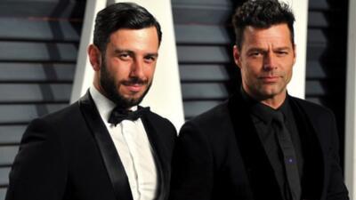El prometido de Ricky Martin publica fotos del cantante muy relajado y en traje de baño