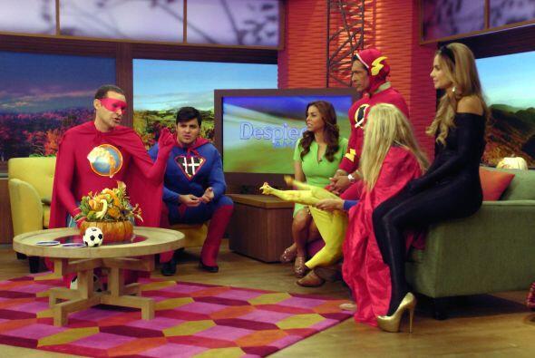 Esta mañana, los Superhéroes nos hicieron reír a carcajadas con sus súpe...