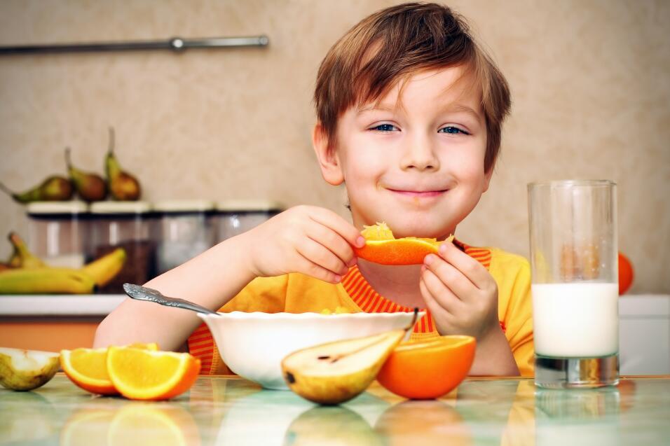 Por ejemplo si quieres que tu hijo se coma todos los vegetales, no basta...