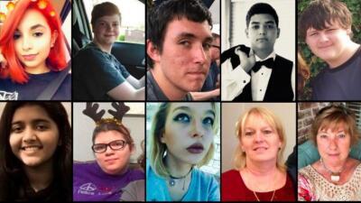 Familiares y autoridades confirmaron la identidad de las 10 víctimas que...