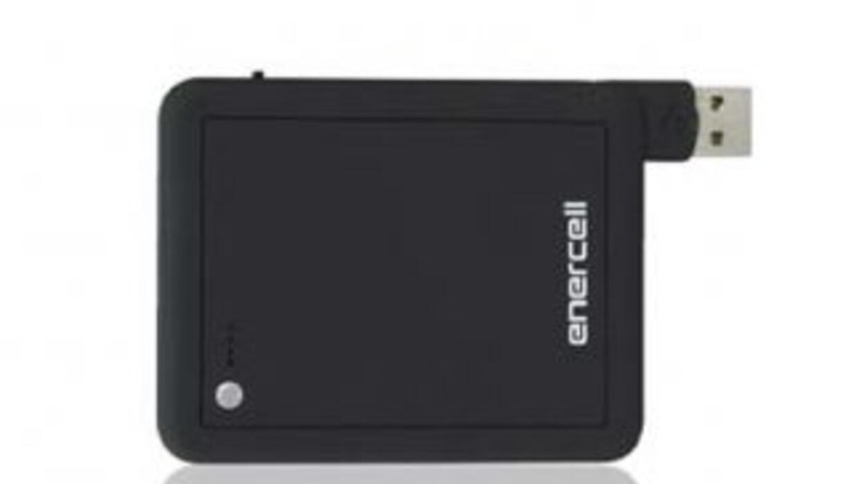 Enercell® 2400mAh Portable Power Bank